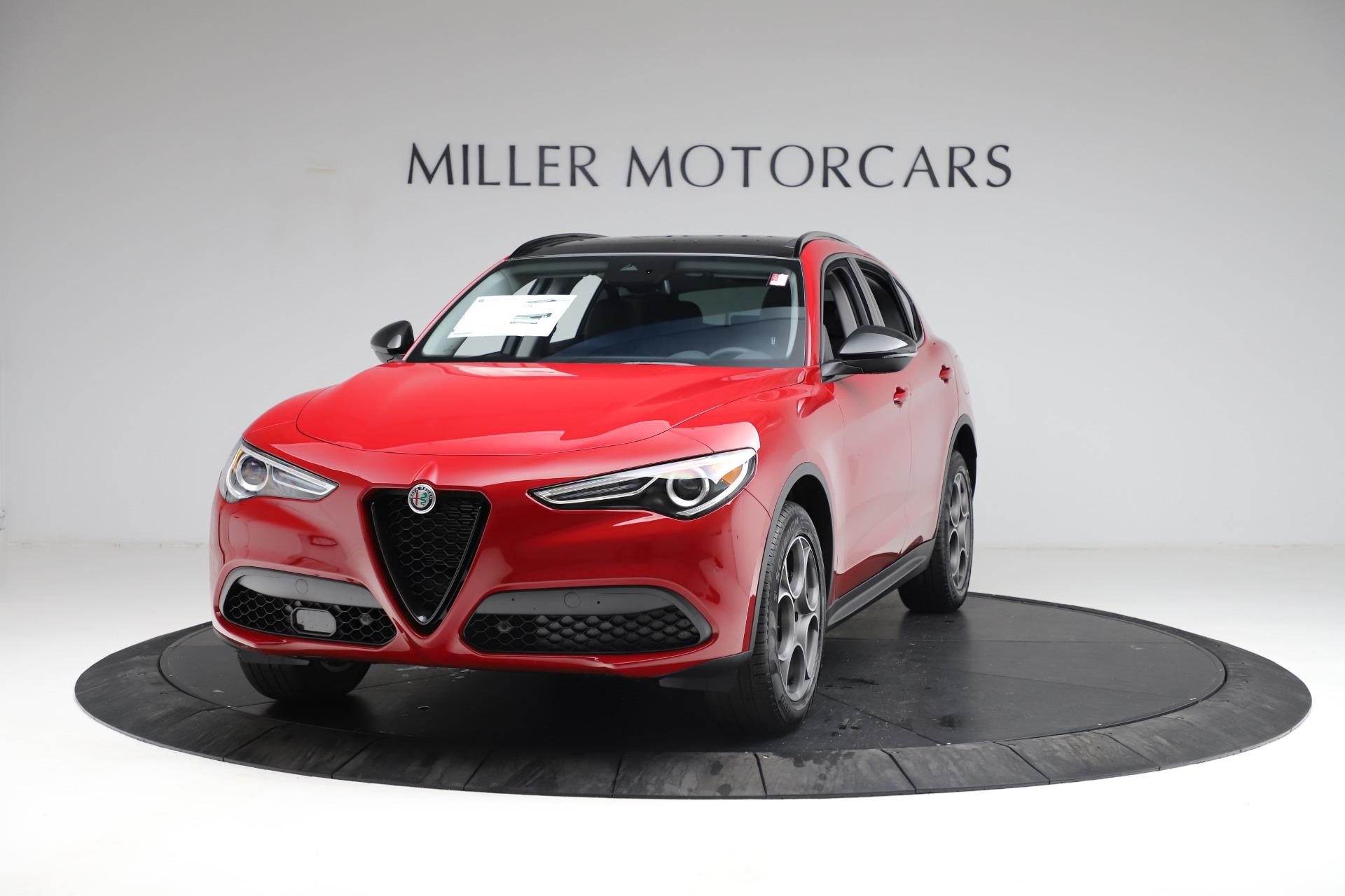 New 2021 Alfa Romeo Stelvio Q4 for sale $50,535 at Alfa Romeo of Greenwich in Greenwich CT 06830 1