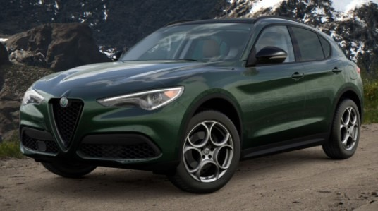 New 2021 Alfa Romeo Stelvio Q4 for sale $51,195 at Alfa Romeo of Greenwich in Greenwich CT 06830 1