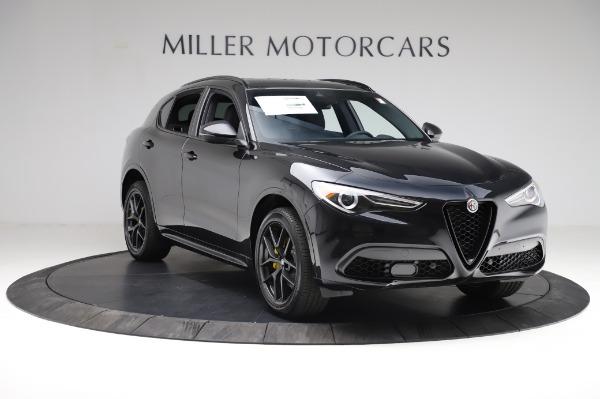 New 2021 Alfa Romeo Stelvio Ti Sport Q4 for sale $57,595 at Alfa Romeo of Greenwich in Greenwich CT 06830 11