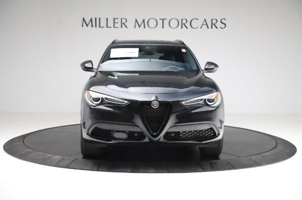 New 2021 Alfa Romeo Stelvio Ti Sport Q4 for sale $57,595 at Alfa Romeo of Greenwich in Greenwich CT 06830 12