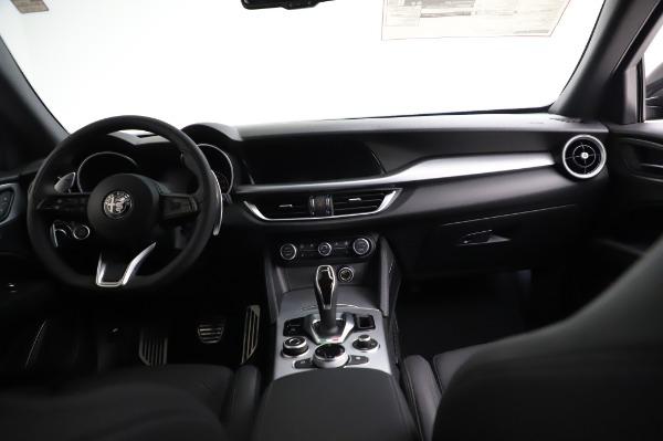 New 2021 Alfa Romeo Stelvio Ti Sport Q4 for sale $57,595 at Alfa Romeo of Greenwich in Greenwich CT 06830 16