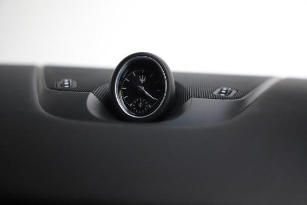 New 2021 Maserati Levante S Q4 GranSport for sale $105,835 at Alfa Romeo of Greenwich in Greenwich CT 06830 22