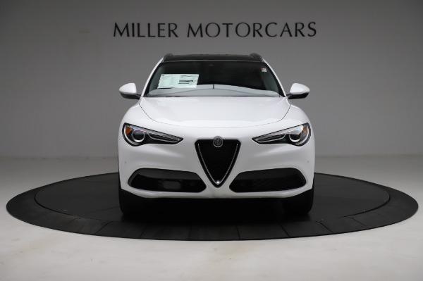 New 2021 Alfa Romeo Stelvio Q4 for sale $49,785 at Alfa Romeo of Greenwich in Greenwich CT 06830 13