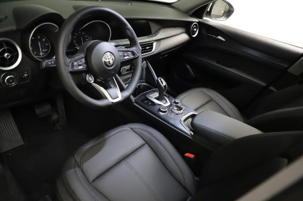 New 2021 Alfa Romeo Stelvio Q4 for sale $49,785 at Alfa Romeo of Greenwich in Greenwich CT 06830 14