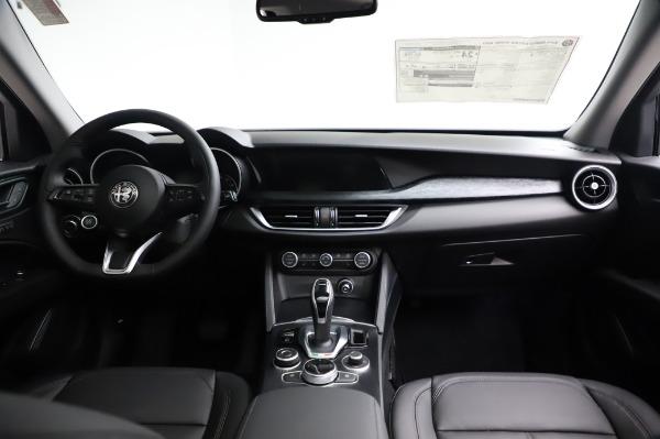 New 2021 Alfa Romeo Stelvio Q4 for sale $49,785 at Alfa Romeo of Greenwich in Greenwich CT 06830 17