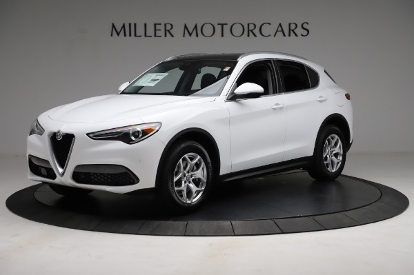 New 2021 Alfa Romeo Stelvio Q4 for sale $49,185 at Alfa Romeo of Greenwich in Greenwich CT 06830 2