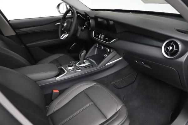 New 2021 Alfa Romeo Stelvio Q4 for sale $49,785 at Alfa Romeo of Greenwich in Greenwich CT 06830 22