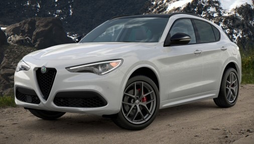 New 2021 Alfa Romeo Stelvio Ti Sport Q4 for sale $56,040 at Alfa Romeo of Greenwich in Greenwich CT 06830 1