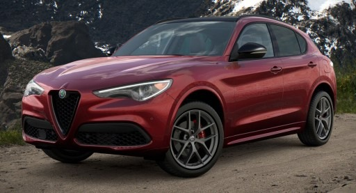 New 2021 Alfa Romeo Stelvio Ti Sport Q4 for sale $61,340 at Alfa Romeo of Greenwich in Greenwich CT 06830 1