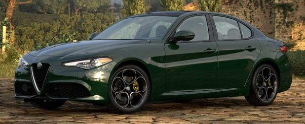 New 2021 Alfa Romeo Giulia Ti Sport Q4 for sale $55,550 at Alfa Romeo of Greenwich in Greenwich CT 06830 1