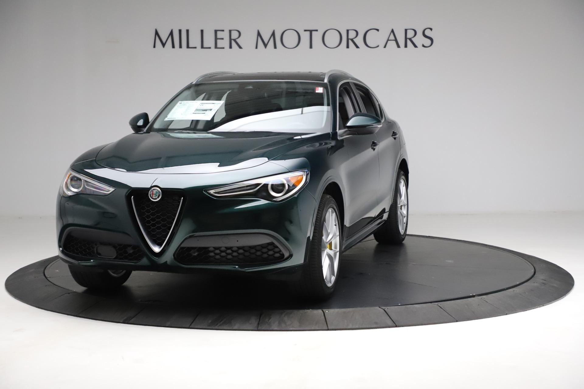 New 2021 Alfa Romeo Stelvio Ti Q4 for sale $53,800 at Alfa Romeo of Greenwich in Greenwich CT 06830 1