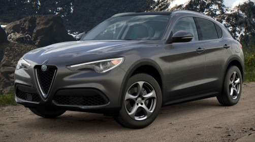 New 2021 Alfa Romeo Stelvio Q4 for sale $48,300 at Alfa Romeo of Greenwich in Greenwich CT 06830 1