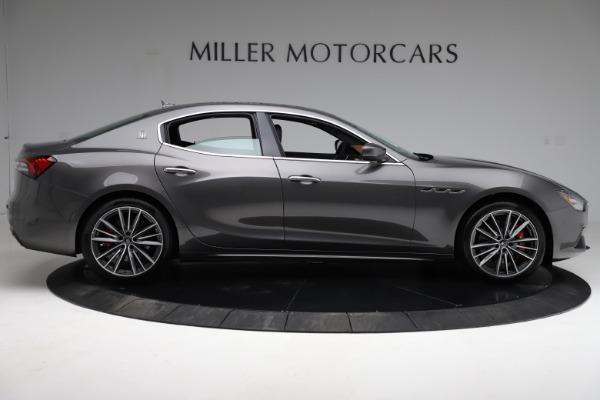 New 2021 Maserati Ghibli S Q4 for sale $90,525 at Alfa Romeo of Greenwich in Greenwich CT 06830 10