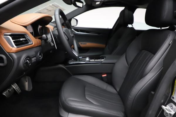 New 2021 Maserati Ghibli S Q4 for sale $90,525 at Alfa Romeo of Greenwich in Greenwich CT 06830 14