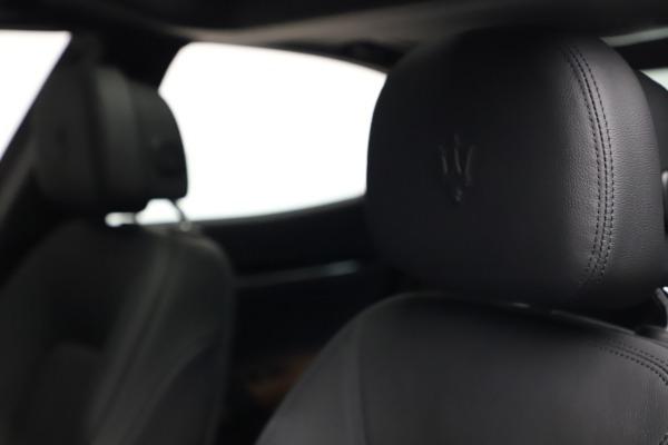 New 2021 Maserati Ghibli S Q4 for sale $90,525 at Alfa Romeo of Greenwich in Greenwich CT 06830 16