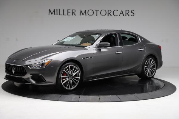 New 2021 Maserati Ghibli S Q4 for sale $90,525 at Alfa Romeo of Greenwich in Greenwich CT 06830 2
