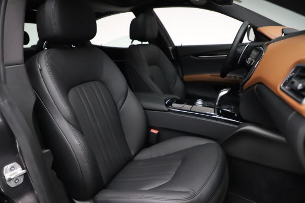 New 2021 Maserati Ghibli S Q4 for sale $90,525 at Alfa Romeo of Greenwich in Greenwich CT 06830 24