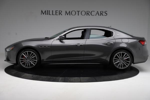 New 2021 Maserati Ghibli S Q4 for sale $90,525 at Alfa Romeo of Greenwich in Greenwich CT 06830 3