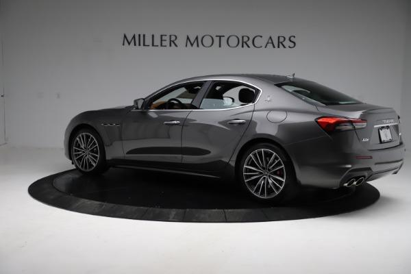New 2021 Maserati Ghibli S Q4 for sale $90,525 at Alfa Romeo of Greenwich in Greenwich CT 06830 4