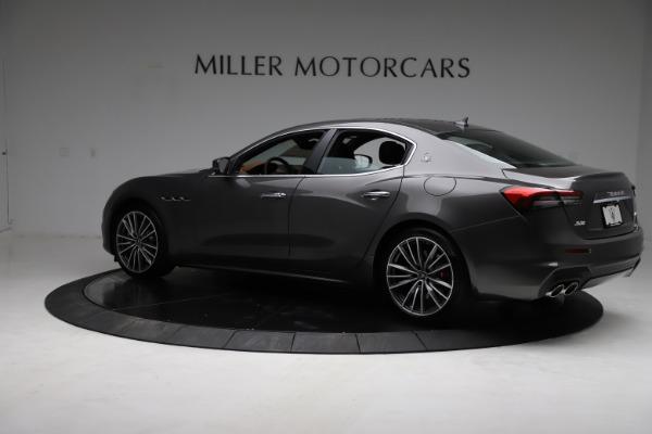 New 2021 Maserati Ghibli S Q4 for sale $90,525 at Alfa Romeo of Greenwich in Greenwich CT 06830 5