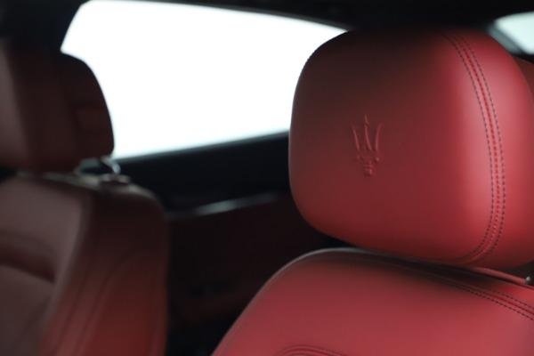 New 2021 Maserati Quattroporte S Q4 GranLusso for sale $122,349 at Alfa Romeo of Greenwich in Greenwich CT 06830 15