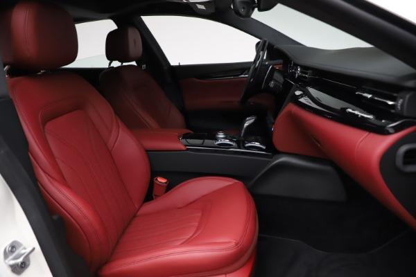New 2021 Maserati Quattroporte S Q4 GranLusso for sale $122,349 at Alfa Romeo of Greenwich in Greenwich CT 06830 25