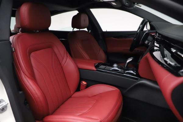 New 2021 Maserati Quattroporte S Q4 GranLusso for sale $122,349 at Alfa Romeo of Greenwich in Greenwich CT 06830 26