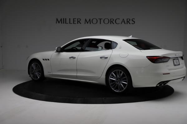New 2021 Maserati Quattroporte S Q4 GranLusso for sale $122,349 at Alfa Romeo of Greenwich in Greenwich CT 06830 4