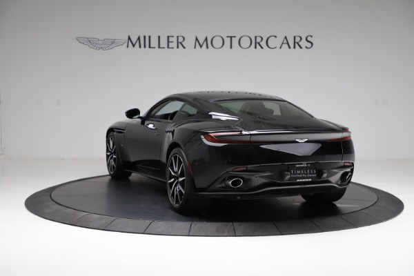 Used 2018 Aston Martin DB11 V12 for sale $159,990 at Alfa Romeo of Greenwich in Greenwich CT 06830 4