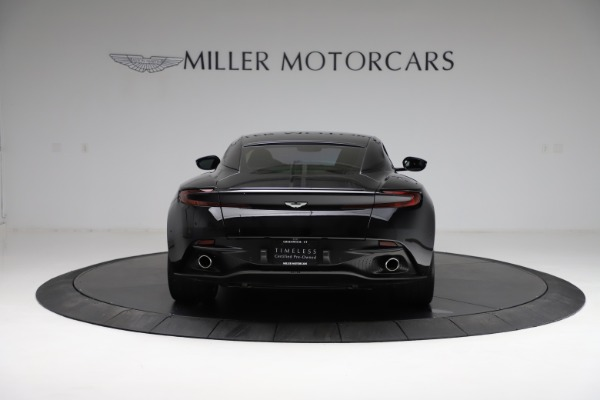 Used 2018 Aston Martin DB11 V12 for sale $159,990 at Alfa Romeo of Greenwich in Greenwich CT 06830 5