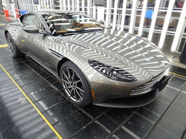 New 2021 Aston Martin DB11 V8 for sale $240,886 at Alfa Romeo of Greenwich in Greenwich CT 06830 2