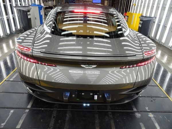 New 2021 Aston Martin DB11 V8 for sale $240,886 at Alfa Romeo of Greenwich in Greenwich CT 06830 3