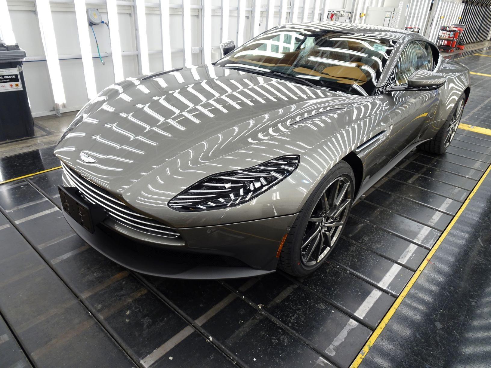 New 2021 Aston Martin DB11 V8 for sale $240,886 at Alfa Romeo of Greenwich in Greenwich CT 06830 1