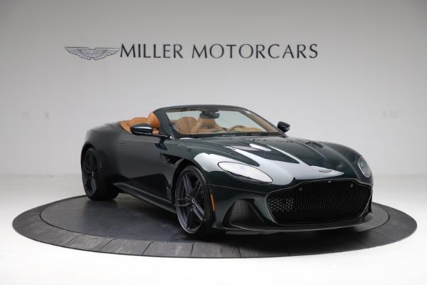 New 2021 Aston Martin DBS Superleggera Volante for sale $392,916 at Alfa Romeo of Greenwich in Greenwich CT 06830 10