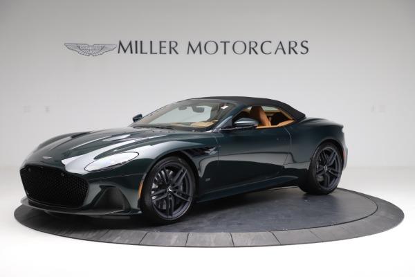 New 2021 Aston Martin DBS Superleggera Volante for sale $392,916 at Alfa Romeo of Greenwich in Greenwich CT 06830 13