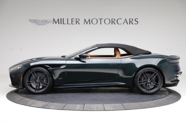 New 2021 Aston Martin DBS Superleggera Volante for sale $392,916 at Alfa Romeo of Greenwich in Greenwich CT 06830 14