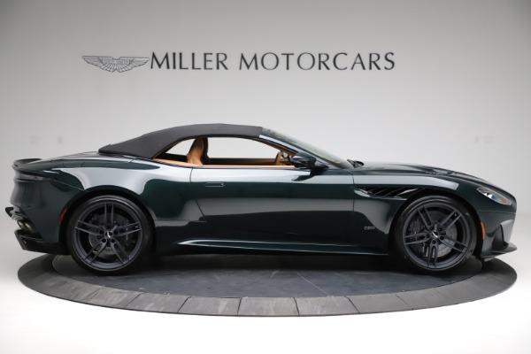 New 2021 Aston Martin DBS Superleggera Volante for sale $392,916 at Alfa Romeo of Greenwich in Greenwich CT 06830 15