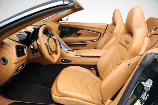 New 2021 Aston Martin DBS Superleggera Volante for sale $392,916 at Alfa Romeo of Greenwich in Greenwich CT 06830 18