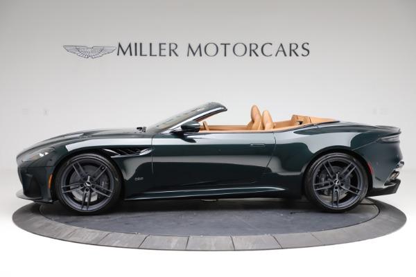 New 2021 Aston Martin DBS Superleggera Volante for sale $392,916 at Alfa Romeo of Greenwich in Greenwich CT 06830 2