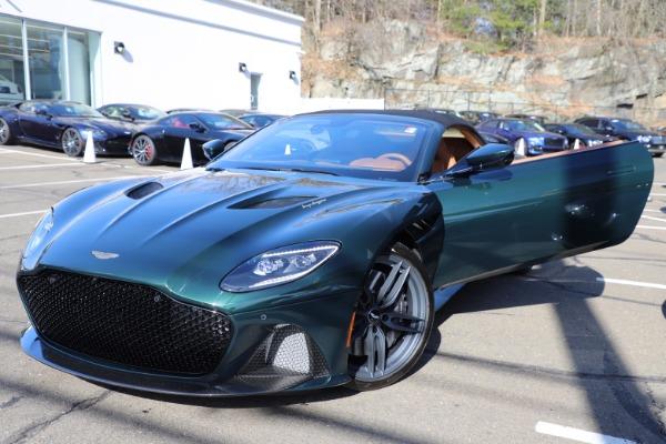 New 2021 Aston Martin DBS Superleggera Volante for sale $392,916 at Alfa Romeo of Greenwich in Greenwich CT 06830 26