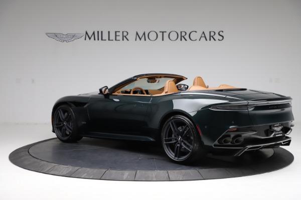 New 2021 Aston Martin DBS Superleggera Volante for sale $392,916 at Alfa Romeo of Greenwich in Greenwich CT 06830 3