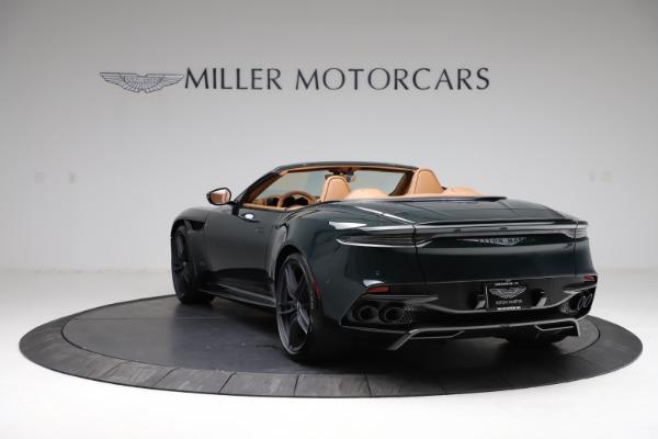 New 2021 Aston Martin DBS Superleggera Volante for sale $392,916 at Alfa Romeo of Greenwich in Greenwich CT 06830 4