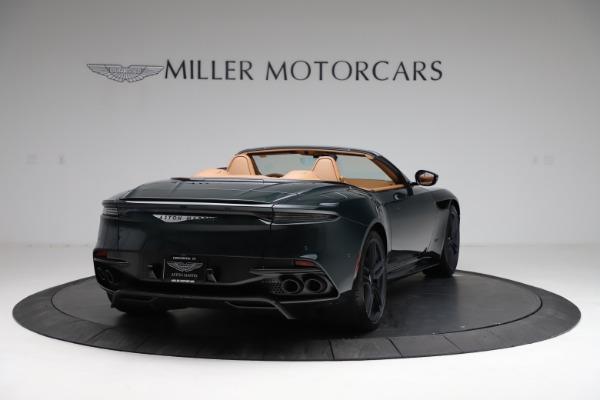New 2021 Aston Martin DBS Superleggera Volante for sale $392,916 at Alfa Romeo of Greenwich in Greenwich CT 06830 6