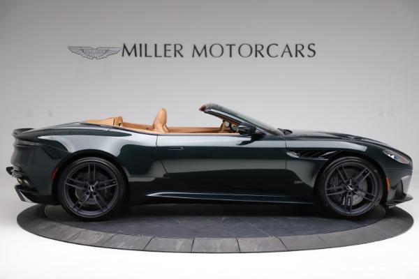 New 2021 Aston Martin DBS Superleggera Volante for sale $392,916 at Alfa Romeo of Greenwich in Greenwich CT 06830 8