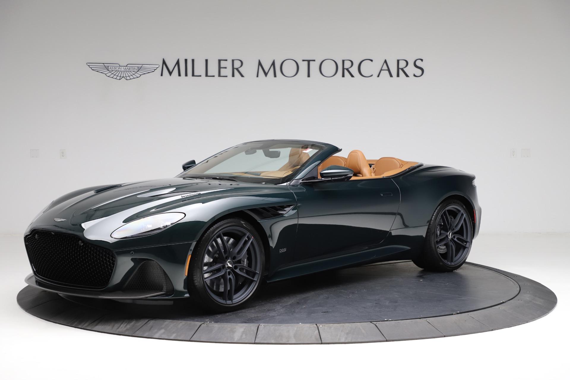 New 2021 Aston Martin DBS Superleggera Volante for sale $392,916 at Alfa Romeo of Greenwich in Greenwich CT 06830 1