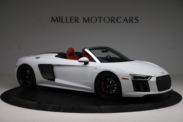 Used 2018 Audi R8 Spyder for sale $154,900 at Alfa Romeo of Greenwich in Greenwich CT 06830 10