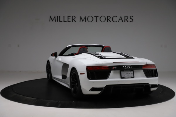 Used 2018 Audi R8 Spyder for sale $154,900 at Alfa Romeo of Greenwich in Greenwich CT 06830 5