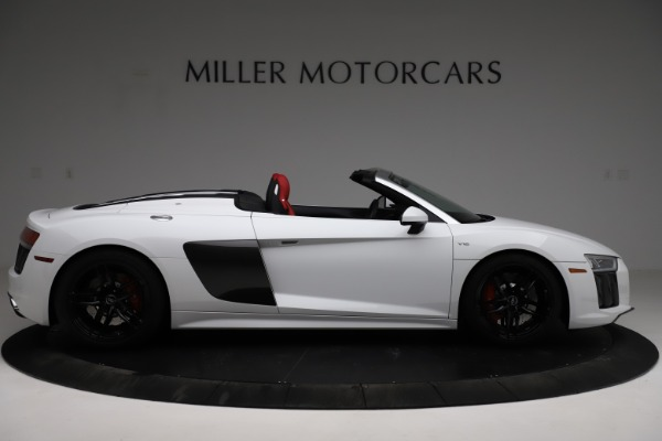 Used 2018 Audi R8 Spyder for sale $154,900 at Alfa Romeo of Greenwich in Greenwich CT 06830 9