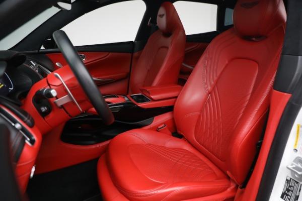 New 2021 Aston Martin DBX for sale $210,386 at Alfa Romeo of Greenwich in Greenwich CT 06830 15
