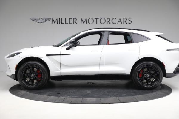 New 2021 Aston Martin DBX for sale $210,386 at Alfa Romeo of Greenwich in Greenwich CT 06830 2